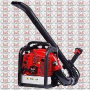 Soprador a Gasolina 2 Tempos - Cilindrada 56,5 cc - Volume de Ar 0,3 m3/hora - Tanque 1,8 ml - TB57B - Toyama