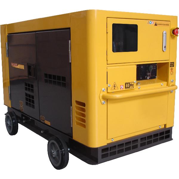 Gerador de energia a Diesel 220V Trifásico 21 KVA, Partida Elétrica, Silenciado - NDE19STA3 - Nagano