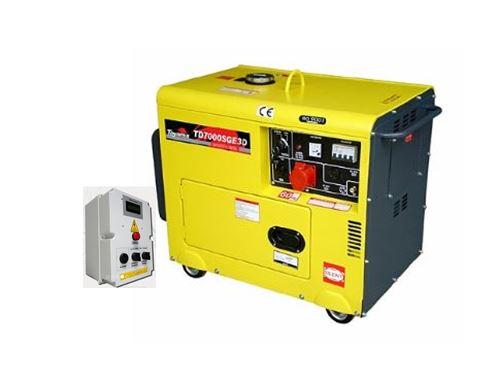 99a8d511d2c Gerador de Energia a Diesel 220V Trifásico 6 KVA - Partida Elétrica -  Silenciado - TDG7000SE3DQTA - Toyama - SS GERADORES