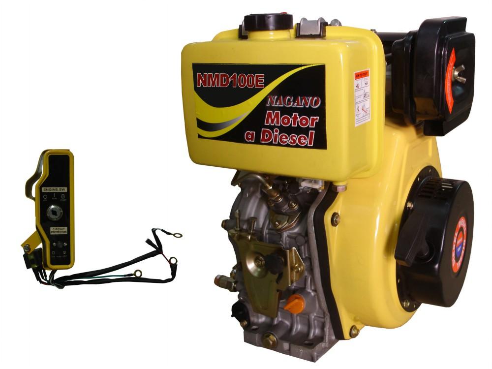 Motor a Diesel - 4 Tempos, Partida Elétrica - 10.0 HP - NMD100E - Nagano