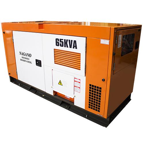 Gerador de energia a Diesel 220V Trifásico 65 KVA - ND65000ES3 - Nagano