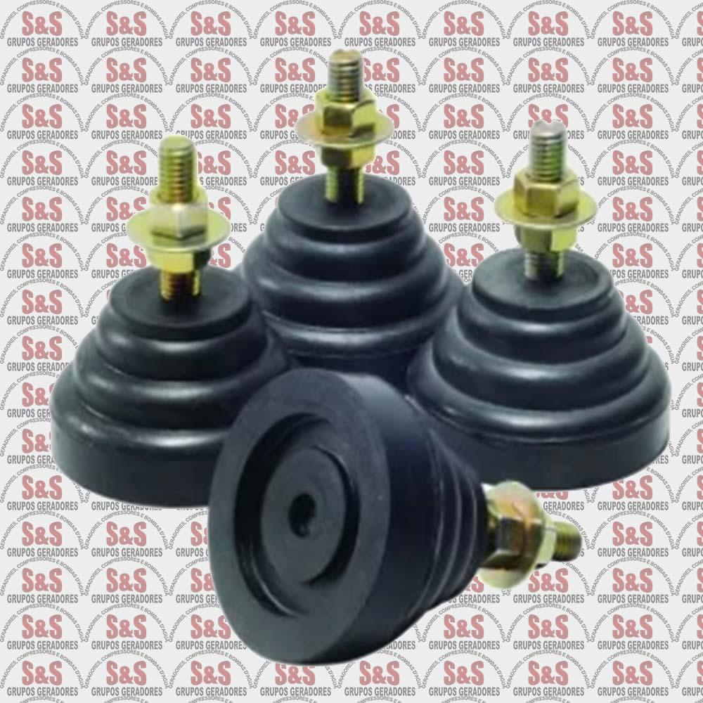 Amortecedores de Vibração Minivibraless 3/8 Polegadas - MVL1 - Chiaperini