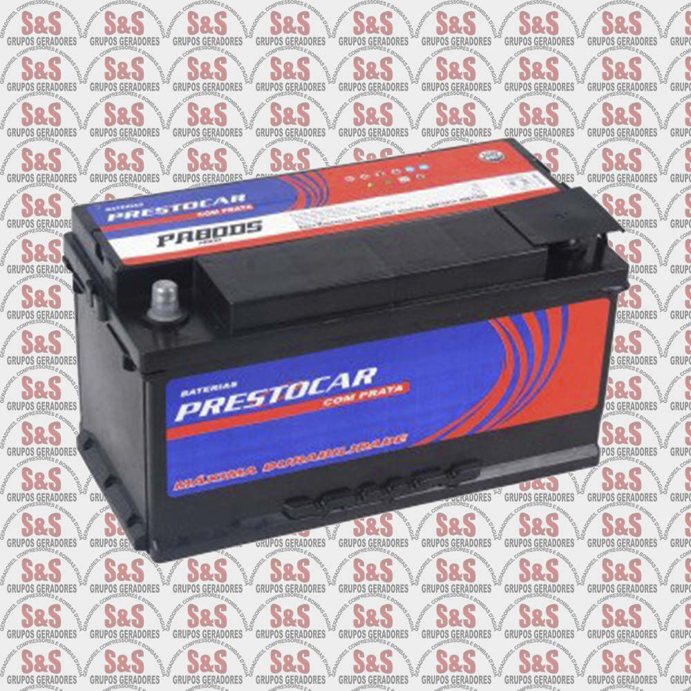 Bateria Selada - 12V - 60 Ampéres - Prestocar