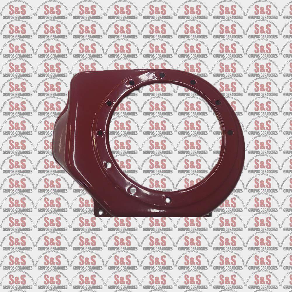 Carenagem Partida Elétrica Motor 5.5/6.5 HP Branco/Toyama/Motomil