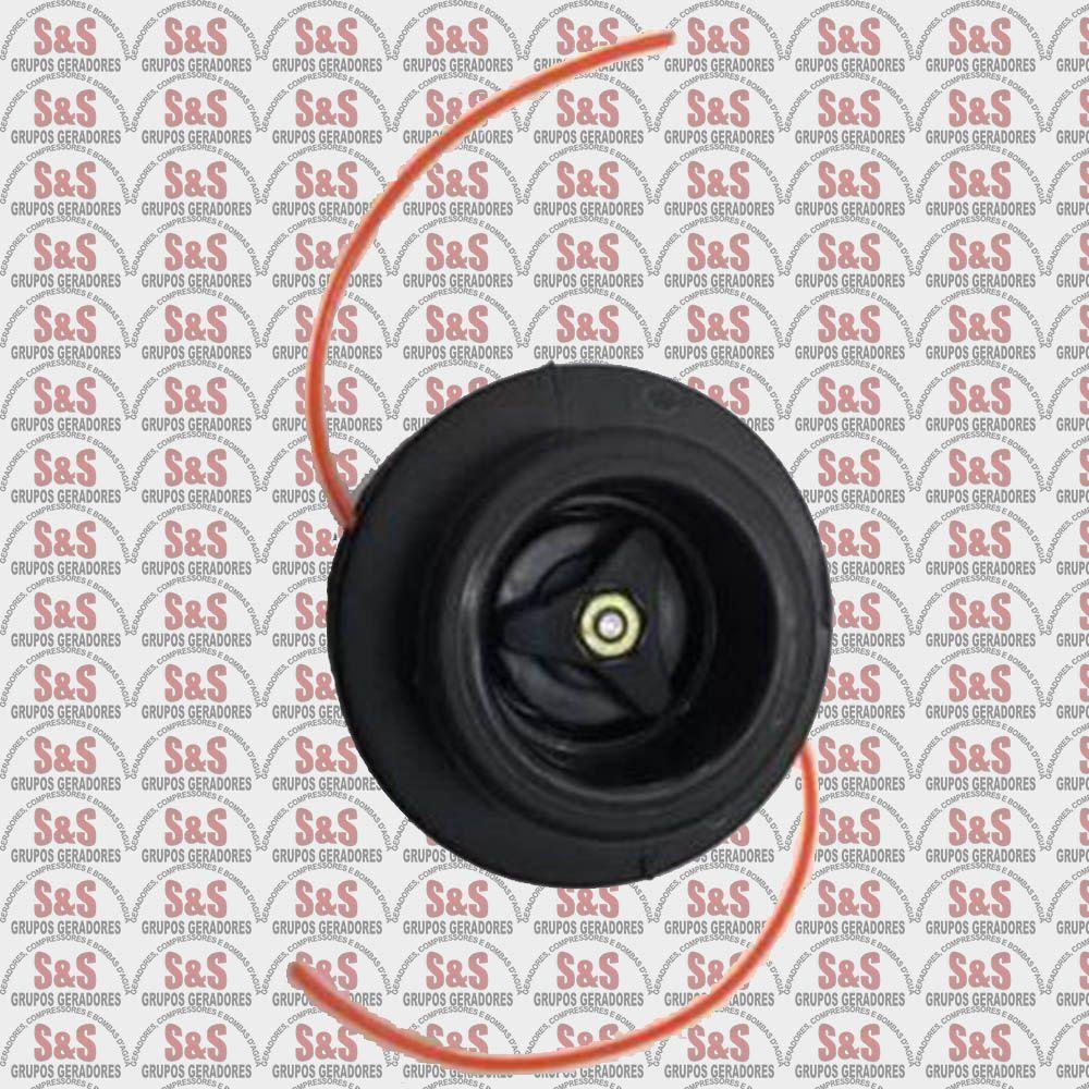 Carretel de Nylon M2 2,5 MM x 3,0 M para Roçadeira