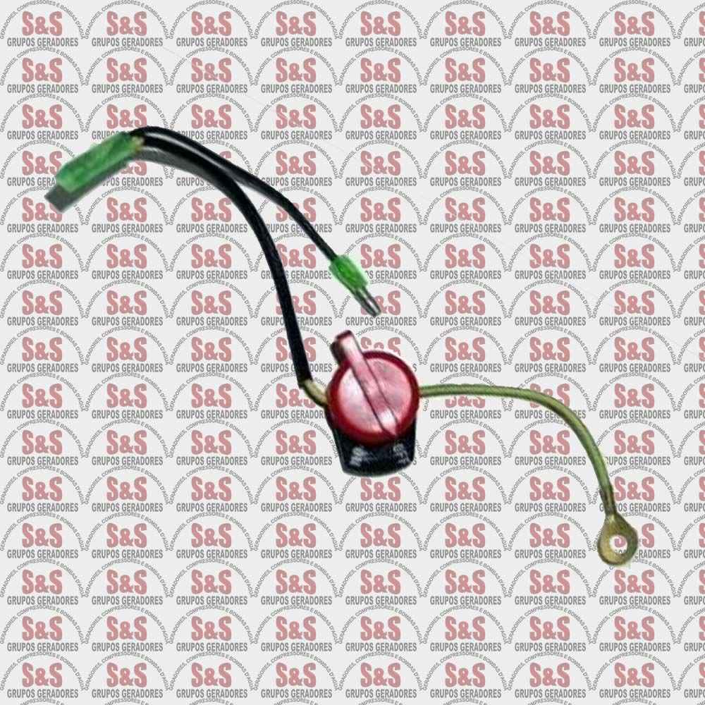 Chave Liga/Desliga Motor  5.5/6.5/7.0/8.0/11.0/13.0/15.0- Toyama/Branco/Motomil
