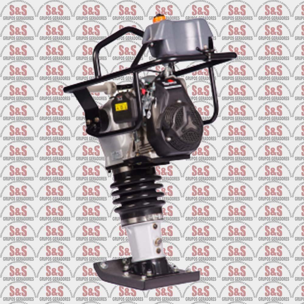 Compactador de Solo a Gasolina - 4 Tempos - 4.5 HP - TTR80ZX - Toyama