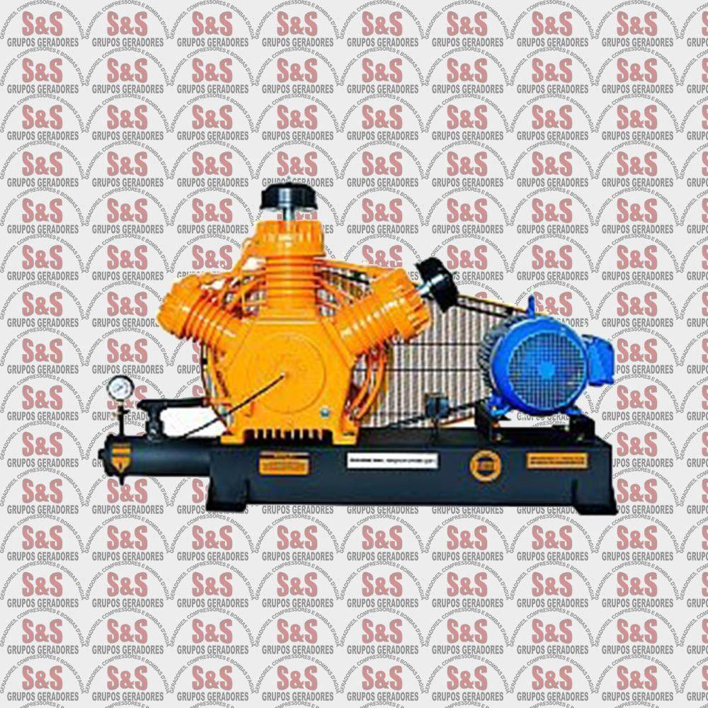 Compressor de Ar - CJ40 AP3V Base - 10HP - 4P - Chiaperini