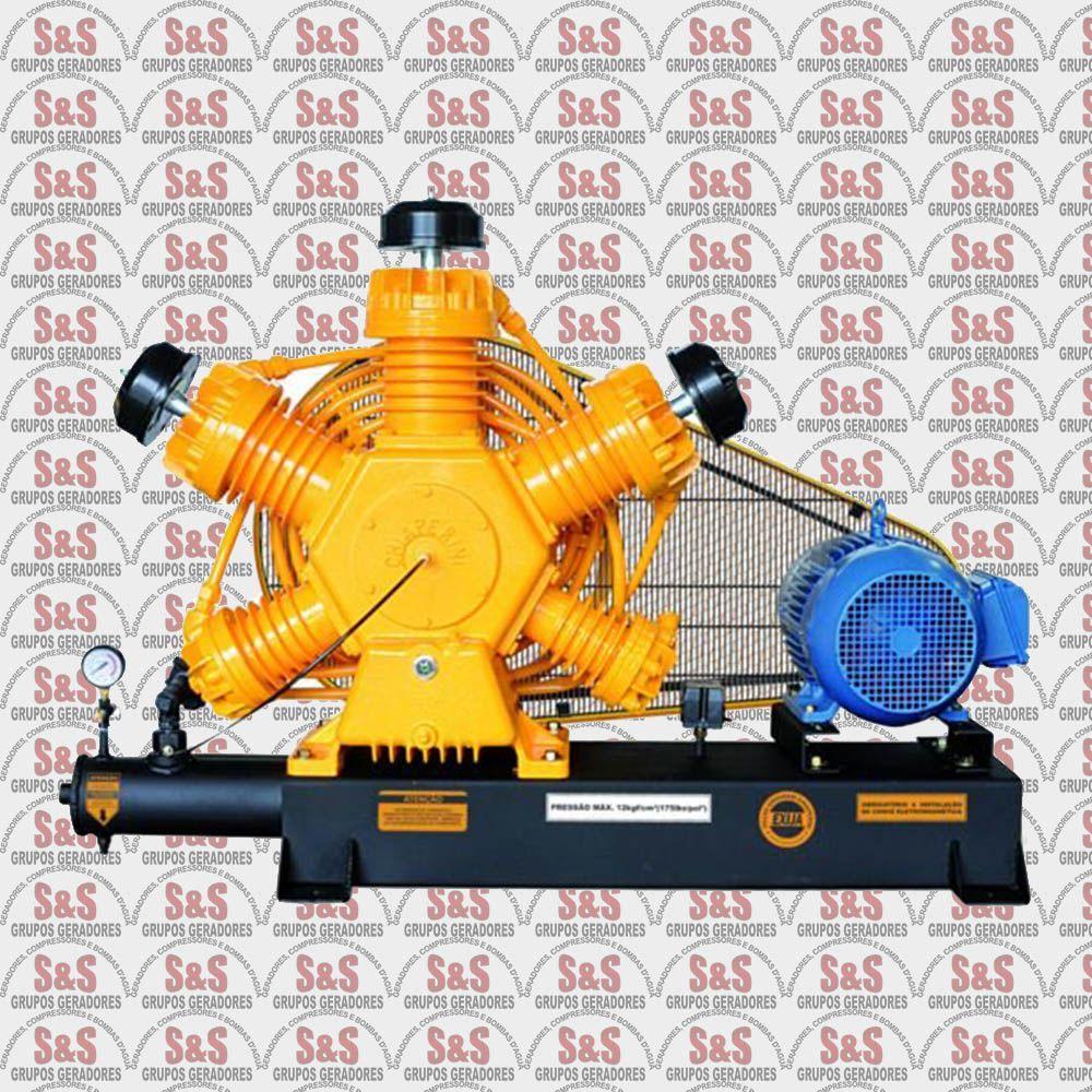 Compressor de Ar - CJ60 APW Base - 15 HP - 4P - Chiaperini