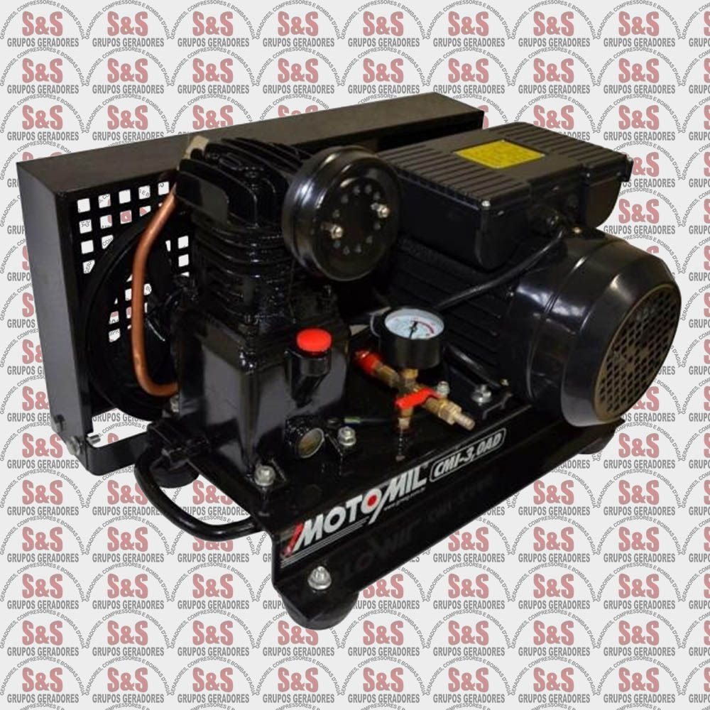 Compressor de Ar Direto com Motor Bivolt - CMI-3.0AD - Motomil