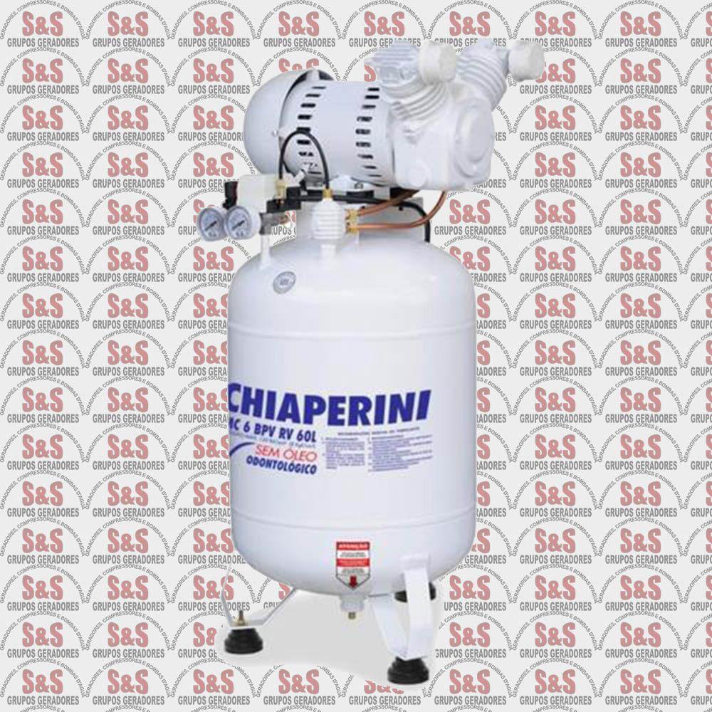 Compressor de Ar - MC6 BPV RV 60L - Bivolt 127/230V - Chiaperini