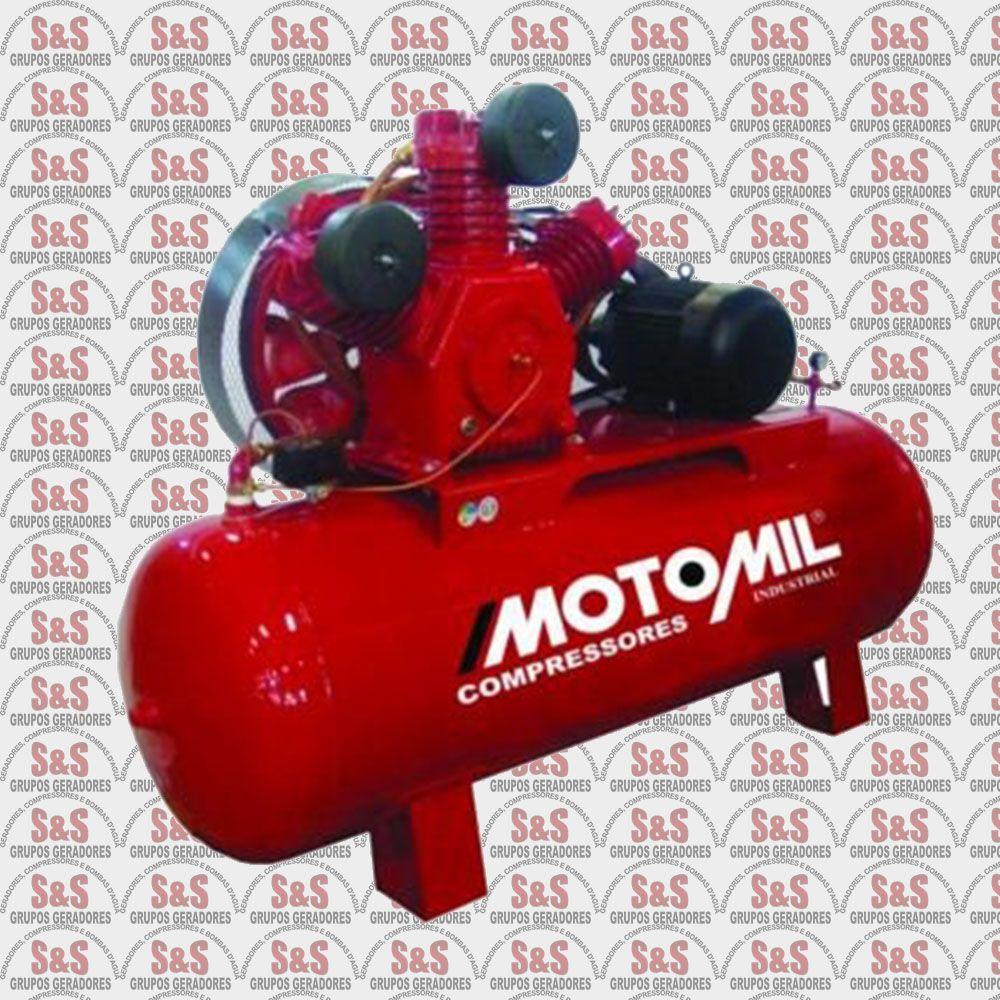 Compressor de Ar - Trifásico - MAW40/350 3P - Motomil