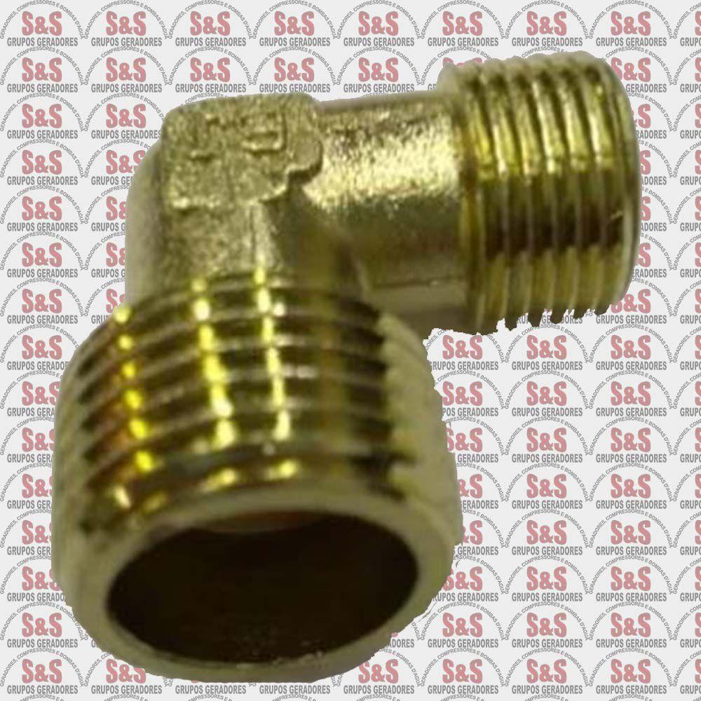 Conector Curva Serpentina 3/8 x 1/2 MAM- 8,5- 8,7- 10/5