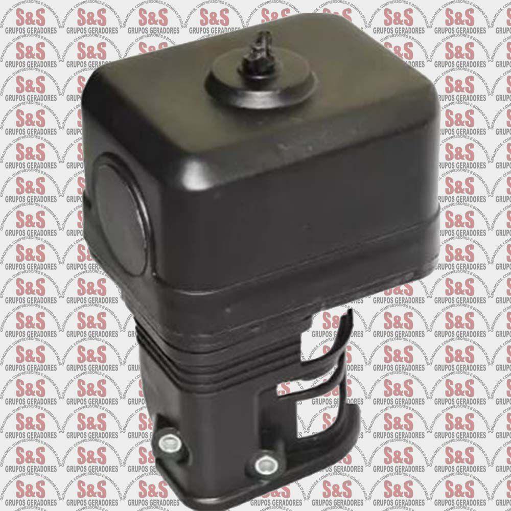 Conjunto Filtro de Ar Completo Motor Gasolina-5.5/6.5-Toyama/Branco/Motomil