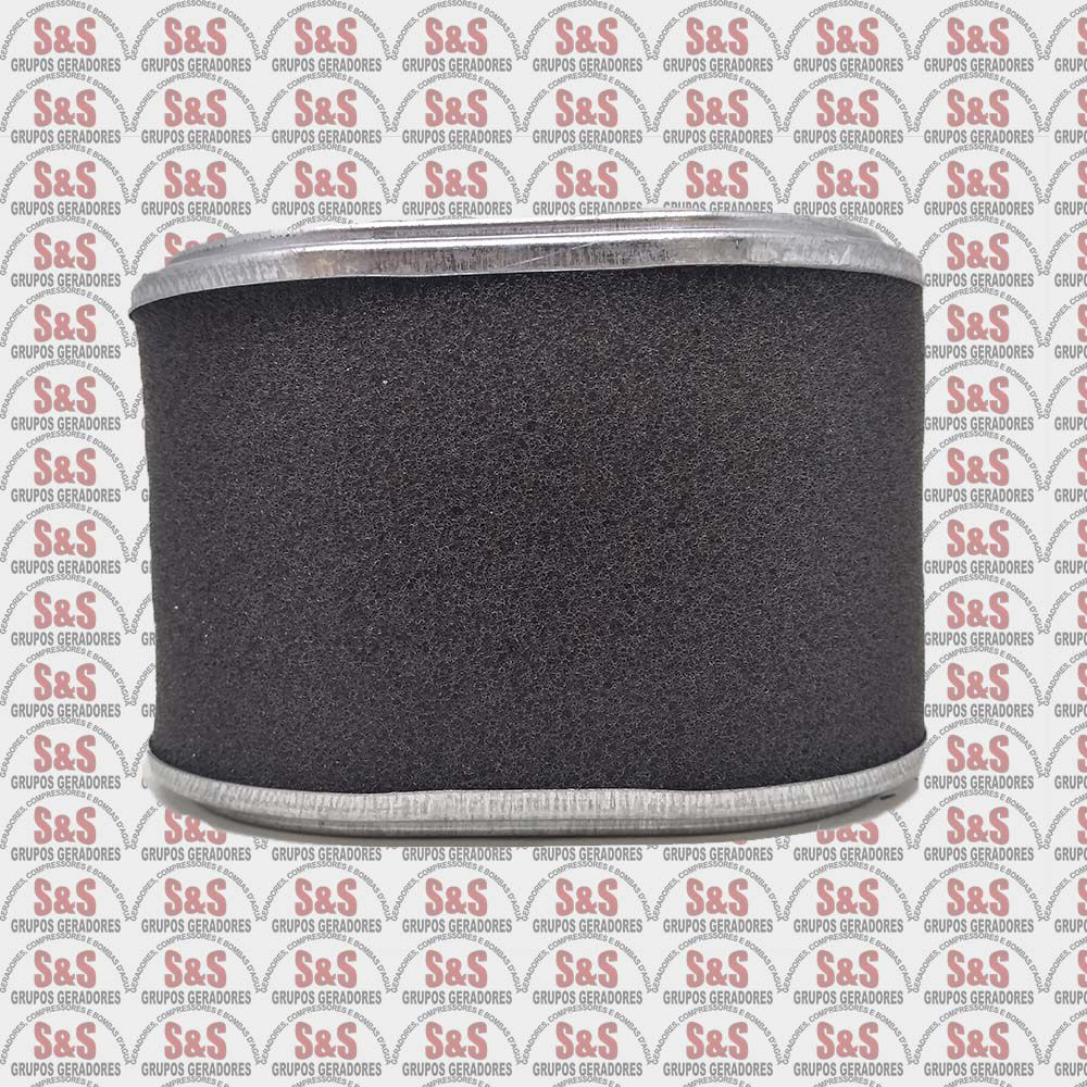 Elemento Filtro de Ar Motor Gasolina Branco/Toyama/Motomil 5,5/6,5HP