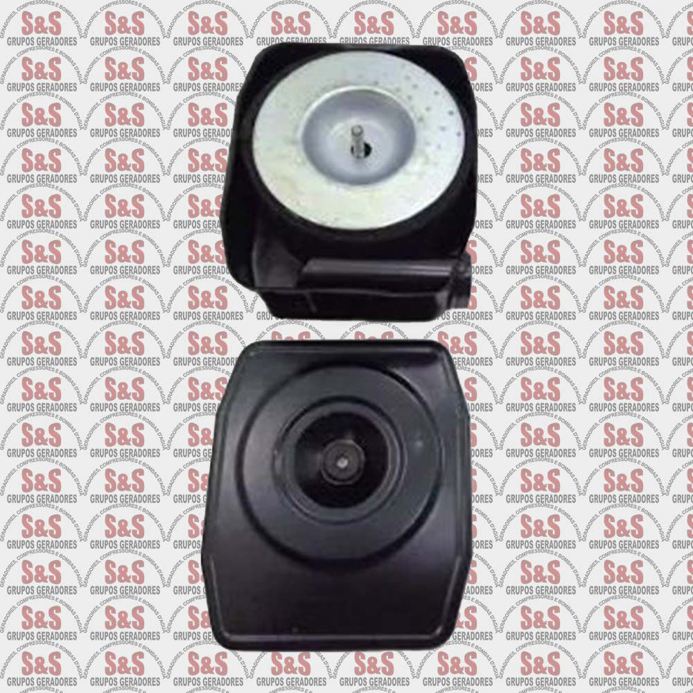 Filtro de Ar Completo Motor Diesel  5.0/7.0HP- Toyama/Branco/Motomil