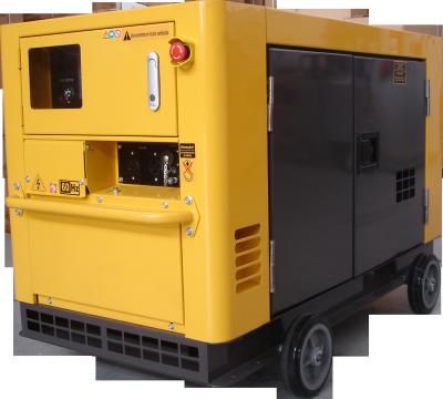 Gerador de energia a Diesel Monofásico - 19KVA, Partida Elétrica, Silenciado - NDE19STA - Nagano