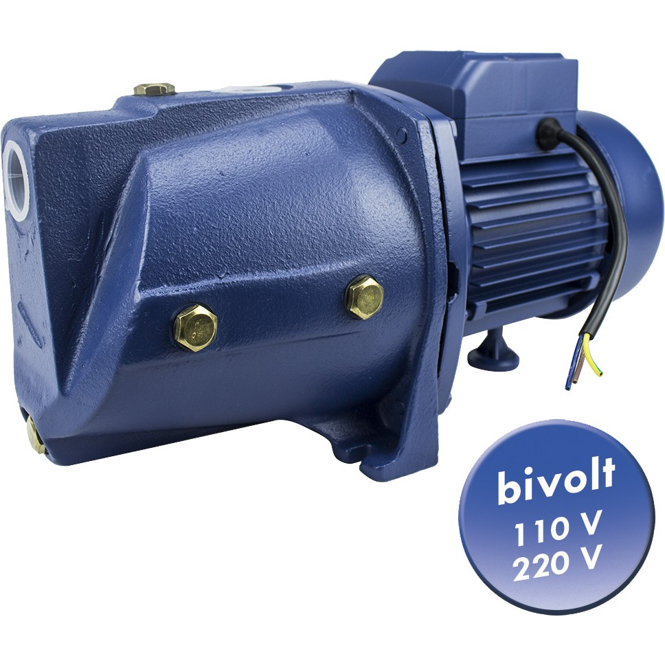 Bomba D'água Autoaspirante para Água Limpa 1/2 HP, 1