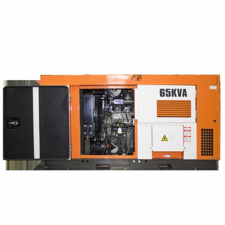 Gerador de energia a diesel 65 kVA trifásico 380V - partida elétrica silenciado cabinado c/ QTA Nagano - ND65000ES3QTA