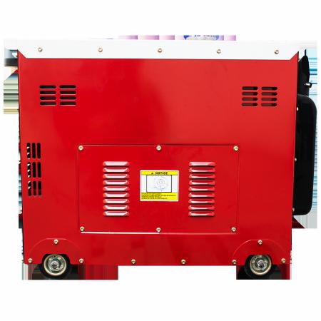 Gerador de energia a Diesel 220V Trifásico 6.0 KVA P. Elétrica Silenciado - ND7000ES3 - Nagano