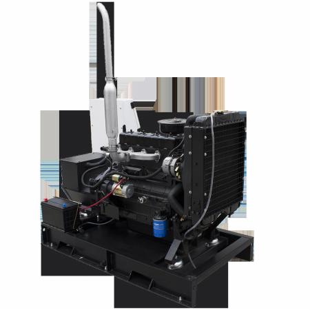 Gerador de energia a diesel Aberto 30 kVA trifásico 220V partida elétrica - ND30000EA3 - Nagano