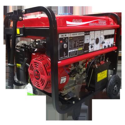 Gerador de energia a Gasolina Monofásico 8 kVA Partida Elétrica - NG8000E - Nagano