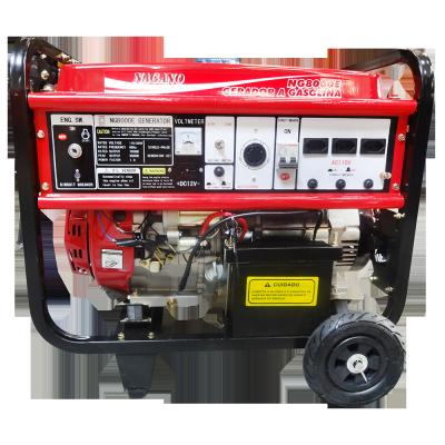 Gerador de energia a Gasolina 380V Trifásico 8 kva Partida Elétrica - NG8000E3D - Nagano