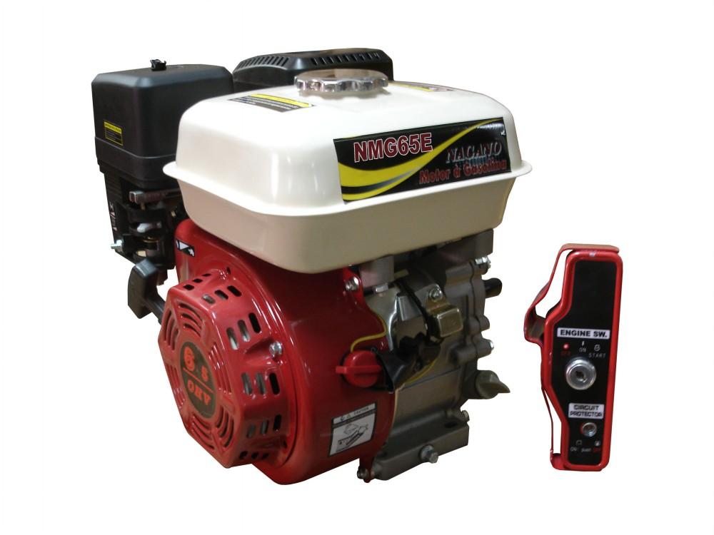 Motor a Gasolina - 4 Tempos, Partida Elétrica - 6.5 HP - NMG65E - Nagano