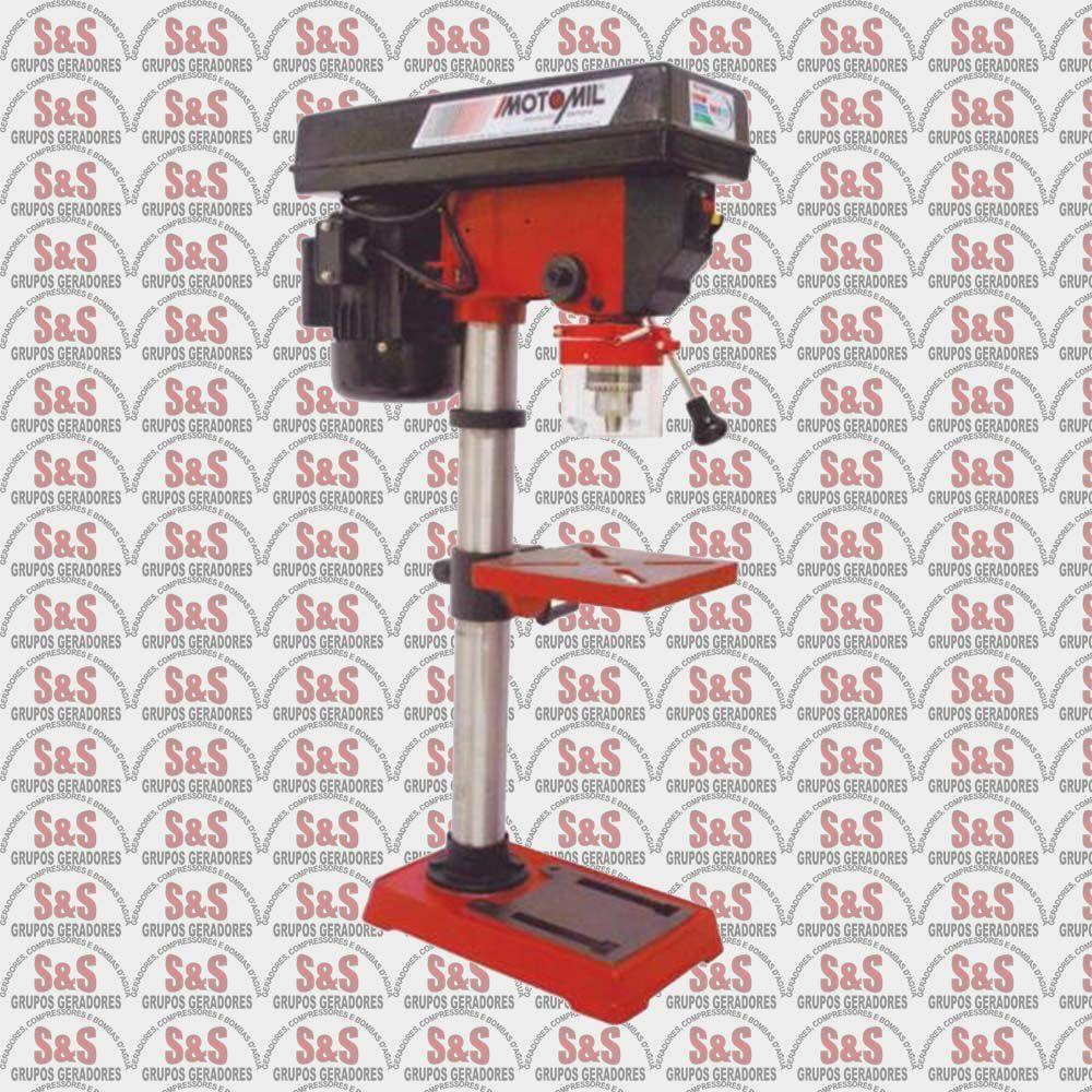 Furadeira de Bancada 1/2Hp - 220V - FBH-160I - Motomil