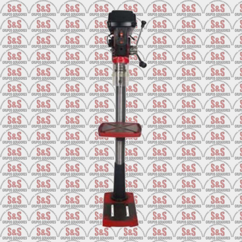 Furadeira de Coluna 1 HP - Cone Morse n°2 - Monofásica - RDM 2801F - Motomil