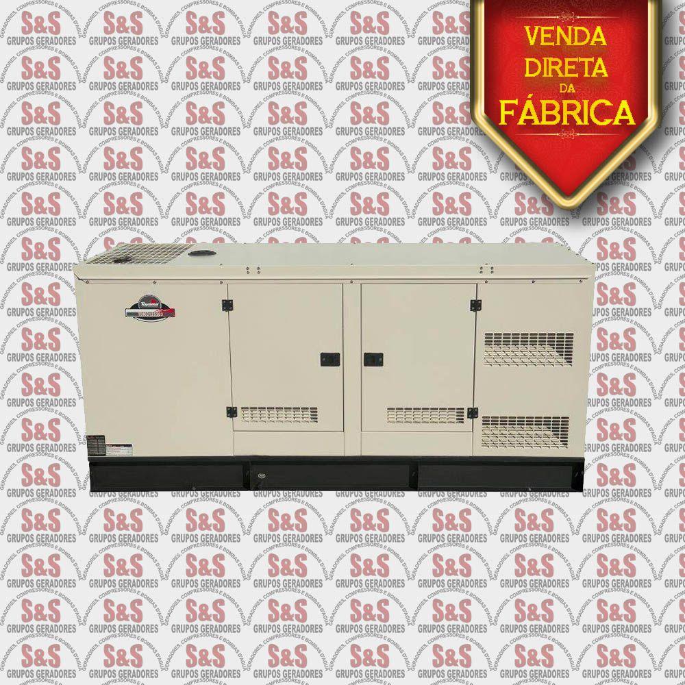 Gerador de Energia a Diesel 220V Trifásico 125 KVA – Refrigerado a Água – Partida Elétrica - Silenciado - TDMG125SE3-220 - Toyama
