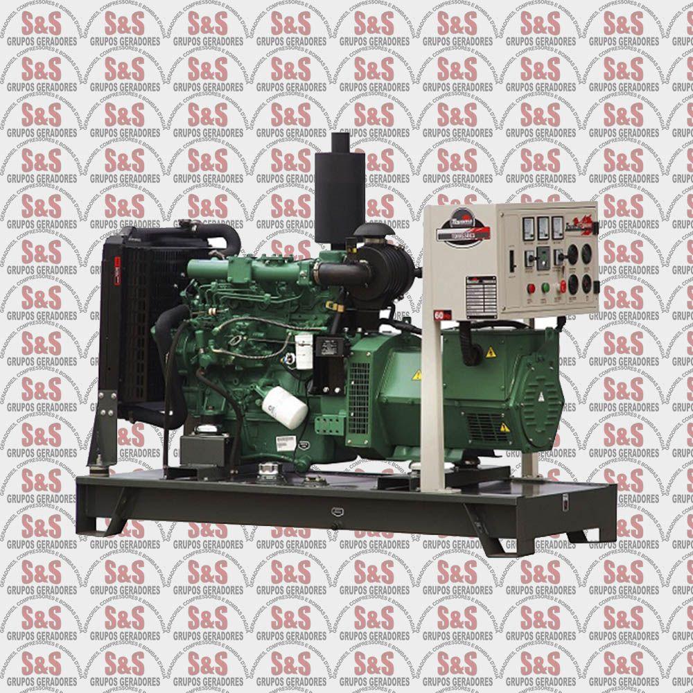 Gerador de energia a Diesel 220V Trifásico 30 KVA – Refrigerado a Água – Partida Elétrica - TDMG30E3 - Toyama