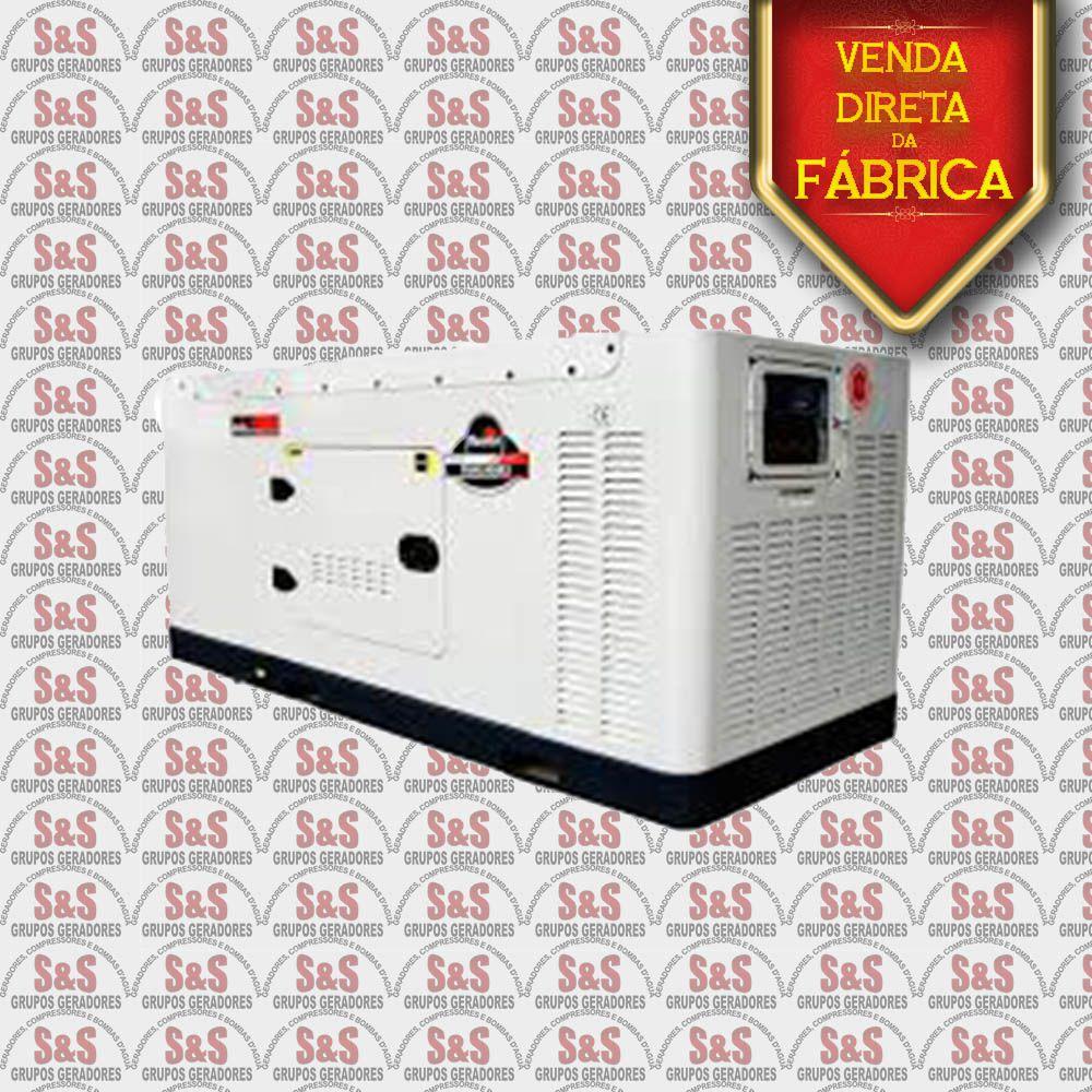 Gerador de Energia a Diesel 380V Trifásico 38 KVA – Refrigerado a Água – Partida Elétrica - Silenciado - TDMG40SE3-380 - Toyama