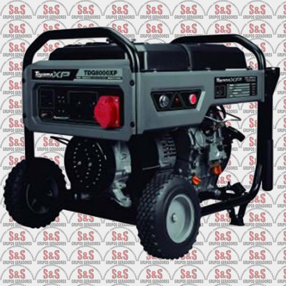 Gerador de Energia a Diesel - Monofásico 6.4 KVA - Partida Elétrica - TDG8000EXP - Toyama