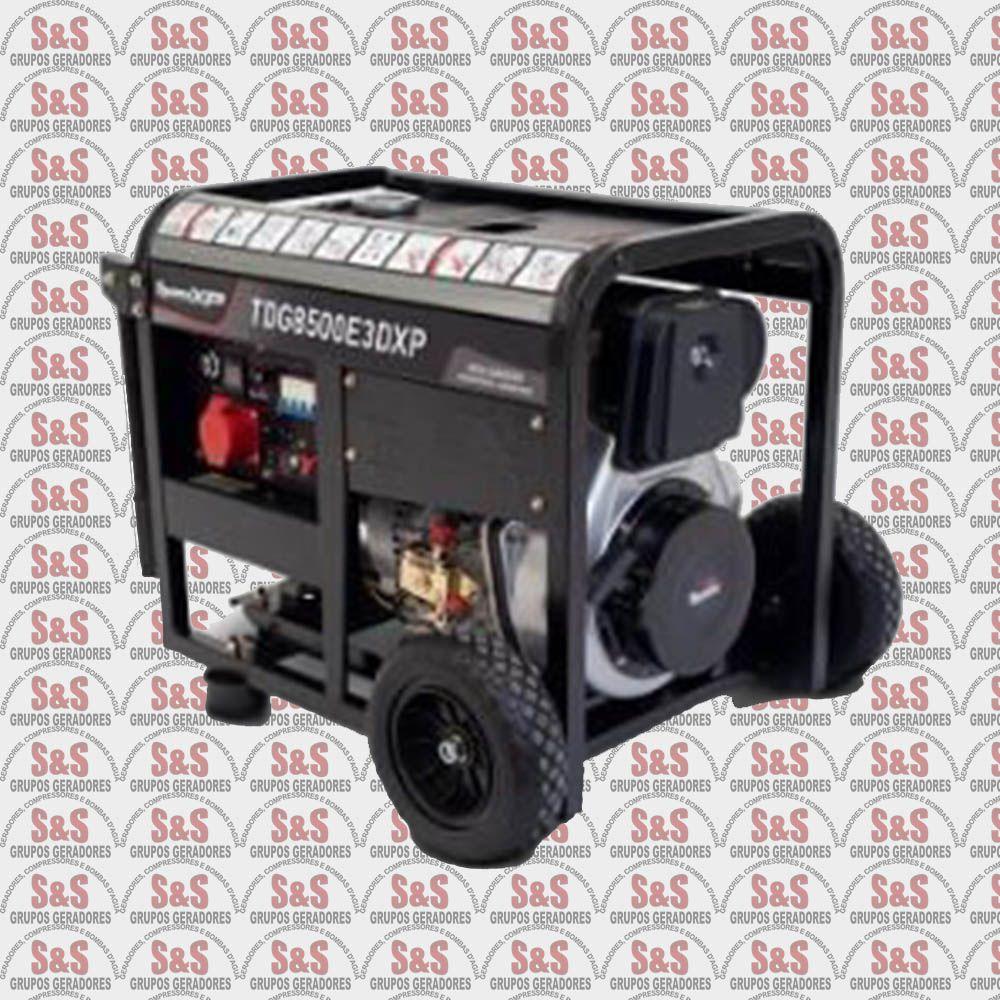 Gerador de energia a Diesel -Trifasico 380V-  TDG8500E3X- ATS Ready
