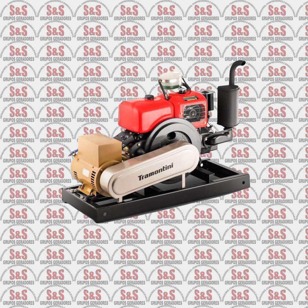 Gerador de Energia a Diesel - Trifásico 7,5 KVA - Partida Elétrica - GT7,5 - Tramontini