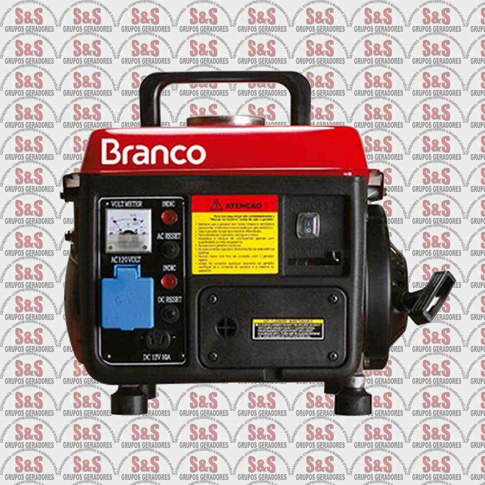 Gerador de Energia a Gasolina 0.95 KVA - Monofásico 110V - B2T950 - Branco