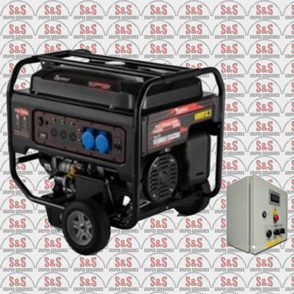 Gerador de Energia a Gasolina 10,5 KVA - Monofásico - Partida Elétrica - TG12000CXNEQTA - Toyama