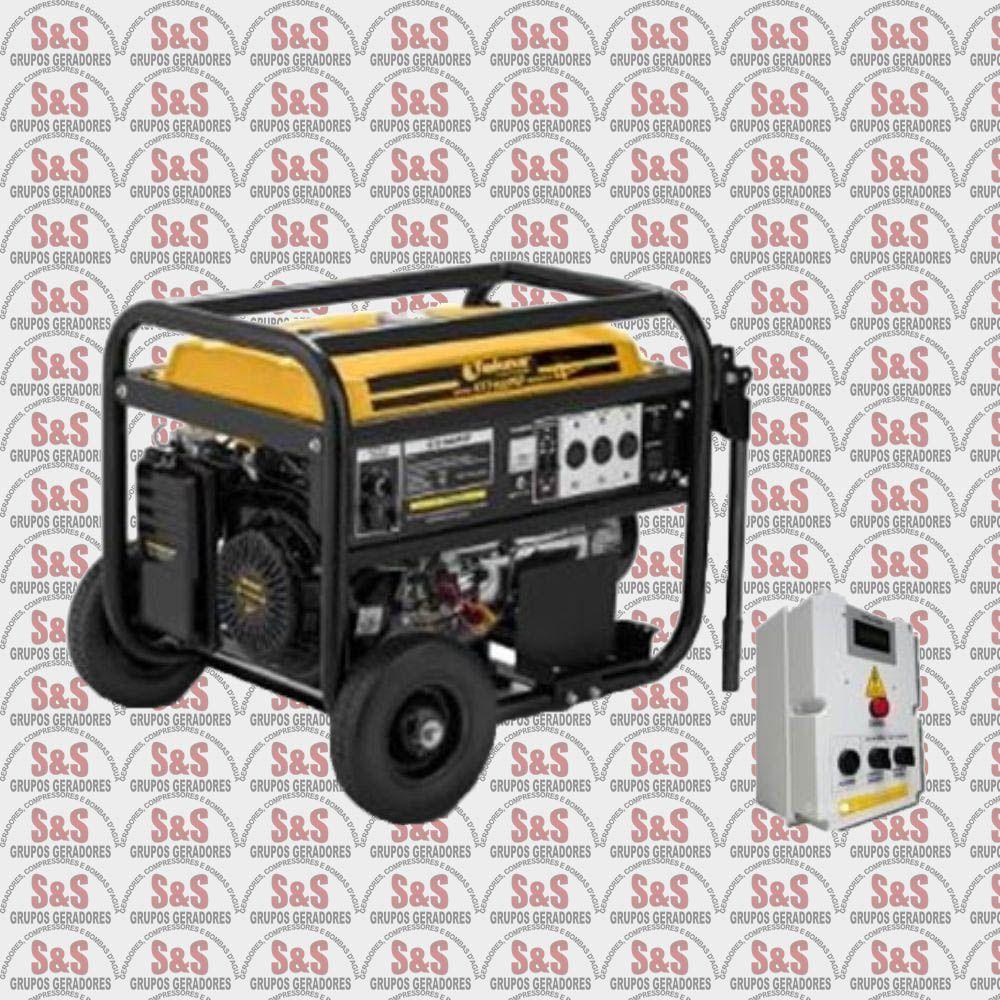 Gerador de Energia a Gasolina 7.2 KVA - Monofásico - Partida Automática - GT7500FEQTA - Tekna