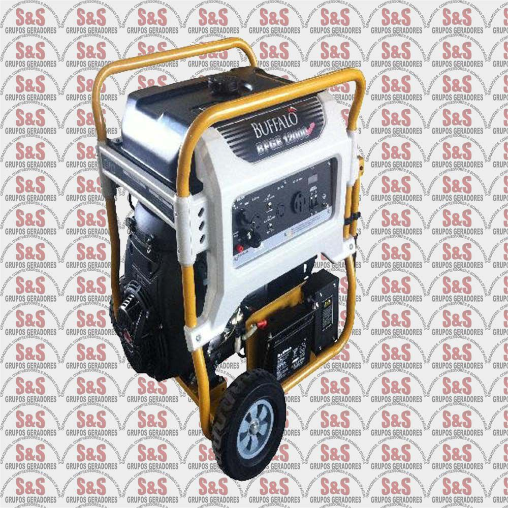 Gerador de Energia a Gasolina - Monofásico 12 KVA, Partida Eletrica -BFGE12000- Buffalo