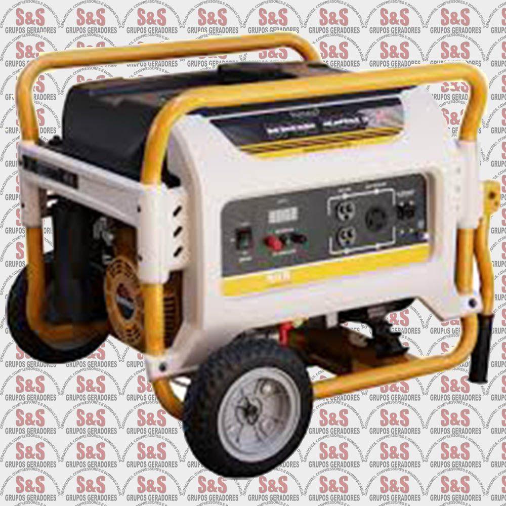 Gerador de Energia a Gasolina -Monofásico 3,25 KVA - Partida Eletrica -BFGE3250 Master - Buffalo