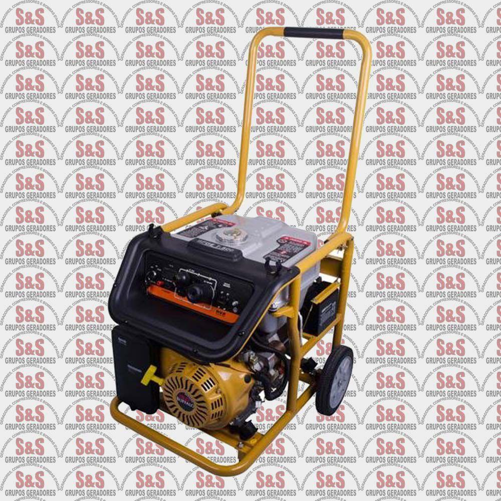 Motogerador de Energia a Gasolina - Monofásico 7,5 KVA - Partida Eletrica -BFGE7500 Plus- Buffalo