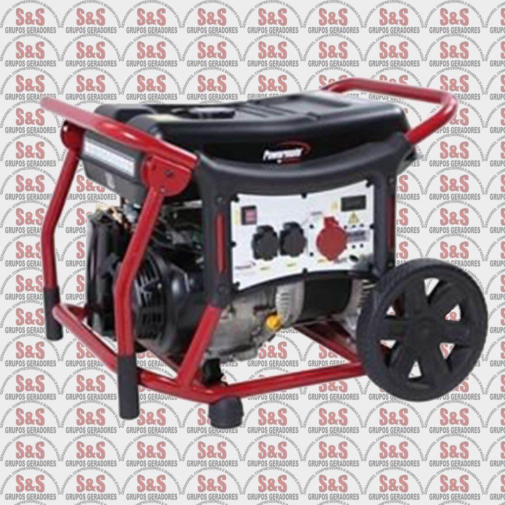 Gerador de Energia a Gasolina - Monofásico - Partida Elétrica - WX10000 - Pramac