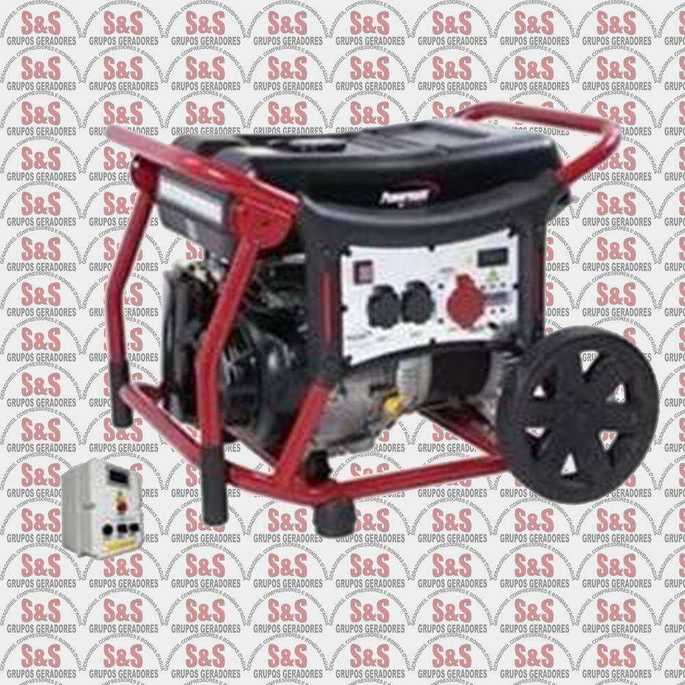 Gerador de Energia a Gasolina - Monofásico - Partida Elétrica - WX10000QTA - Pramac