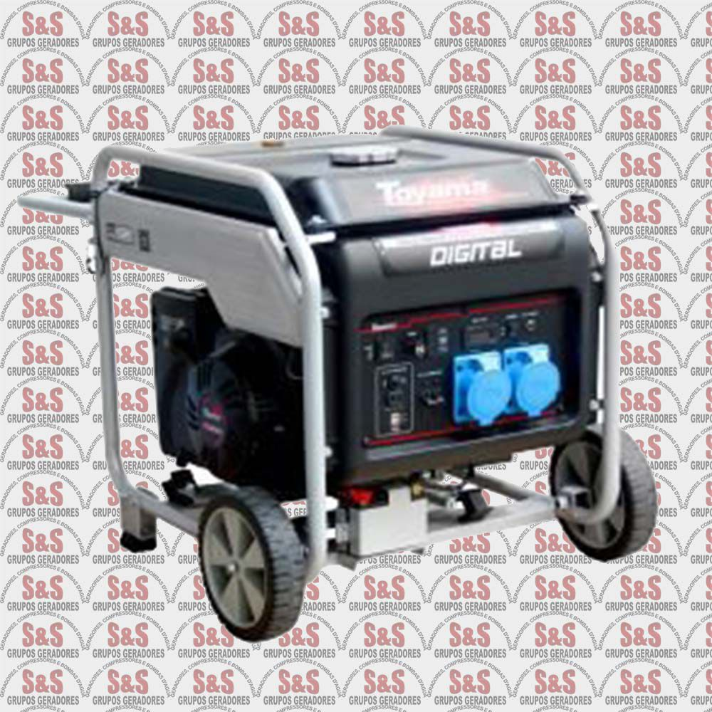 Gerador Digital TG9000IE-XP à Gasolina 9KVA-Monofásico -Toyama