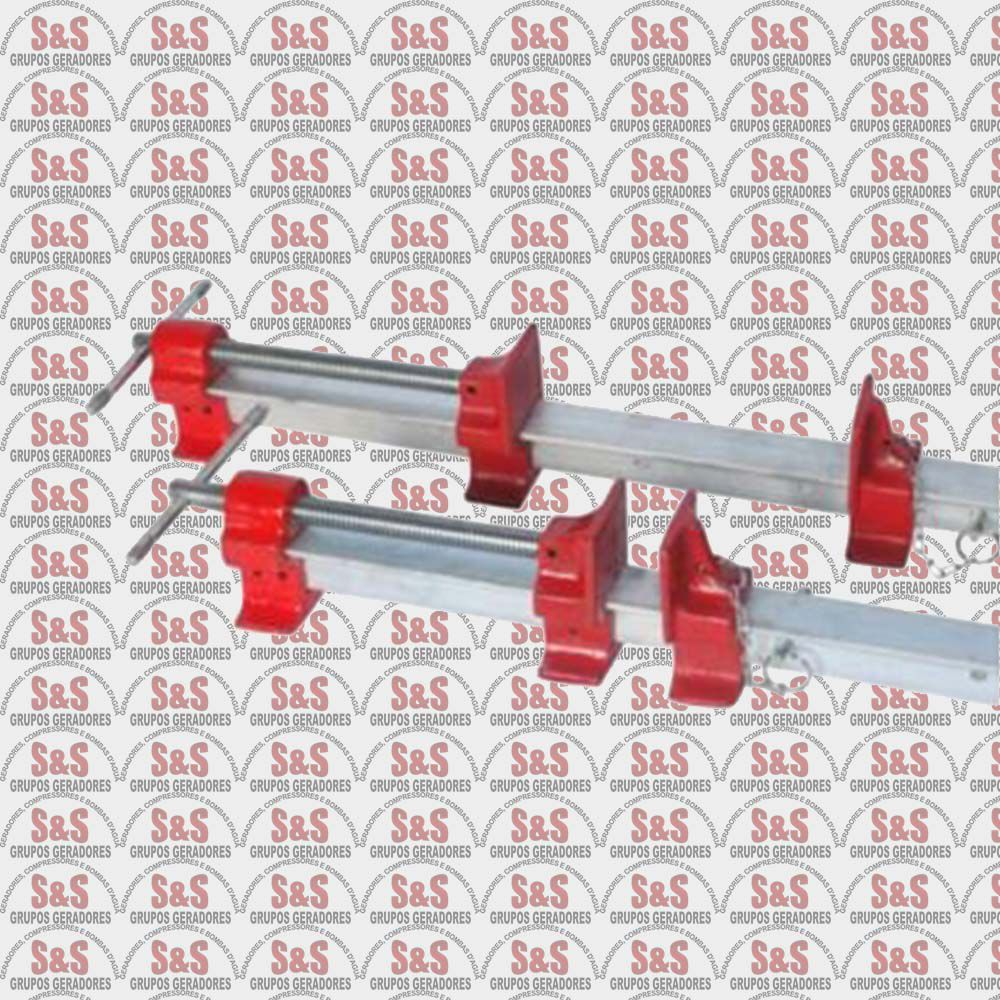 Grampo Sargento T- Abertura Útil 1000mm - MST1000 - Motomil