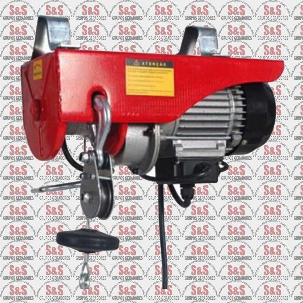 Guincho de Coluna Elétrico Profissional  de 100 a 200 Kg - Monofásica 220V  - HA101 - Motomil