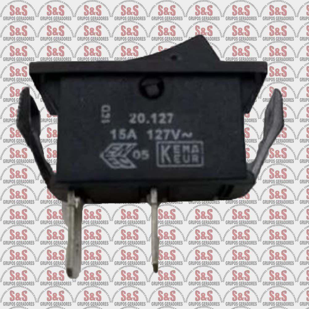 Interruptor Unip. 15A- Aparador de Grama Garthen Todos