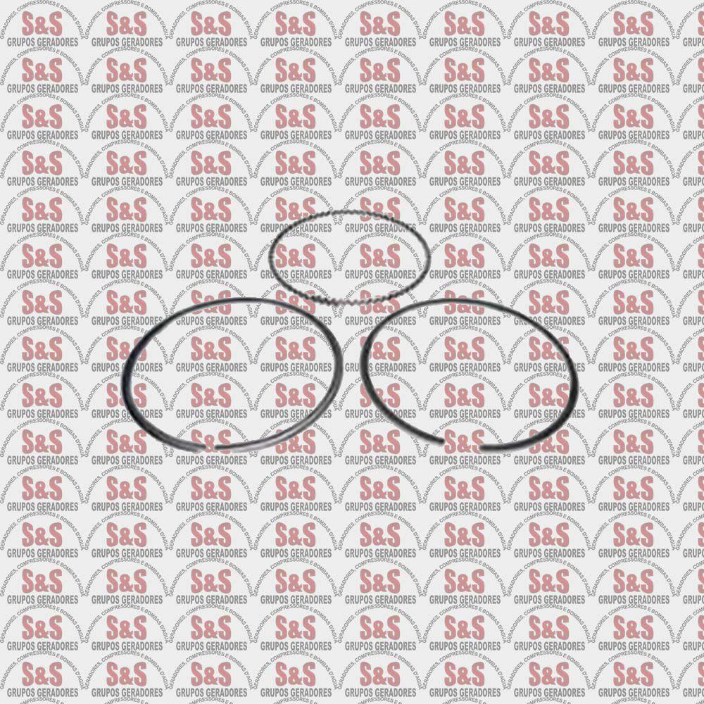 Jogo Anéis (0,50) Motor Gasolina-5,5/6,5- Multimarcas