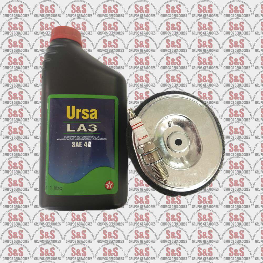 Kit Preventiva/Corretiva Motor Gasolina 9.0HP- Toyama/Branco/Motomi